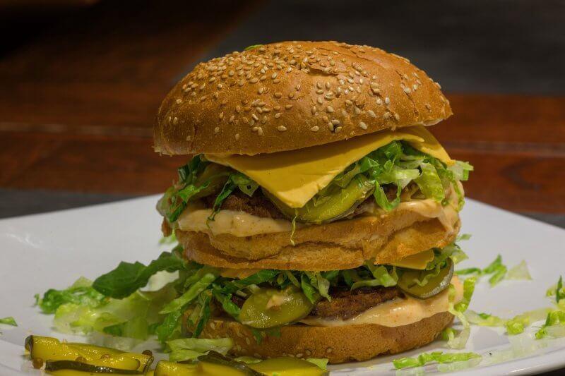 Green Lion Vegan Burger