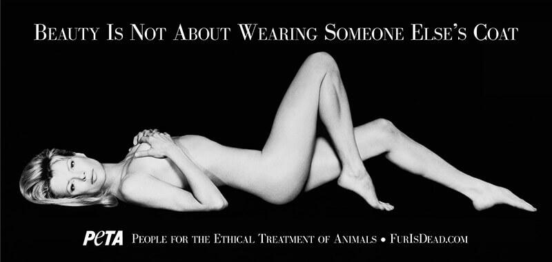 Kim Basinger's PETA ad