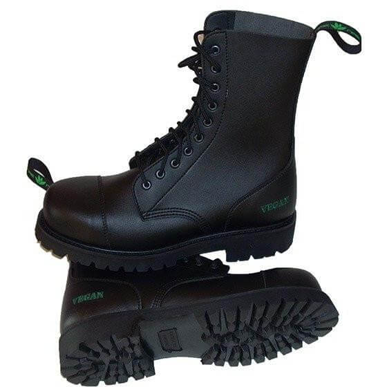 Vegan Steel-Capped Boots for Work  837a48d15f24