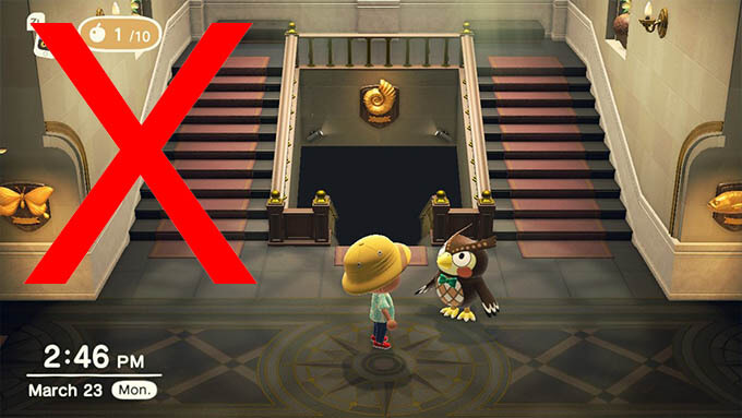 A museum on Animal Crossing.