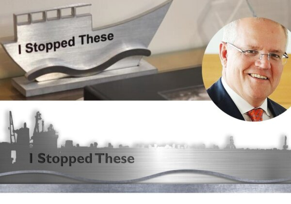 Scott Morrison's new trophy - if he stops live export boats.