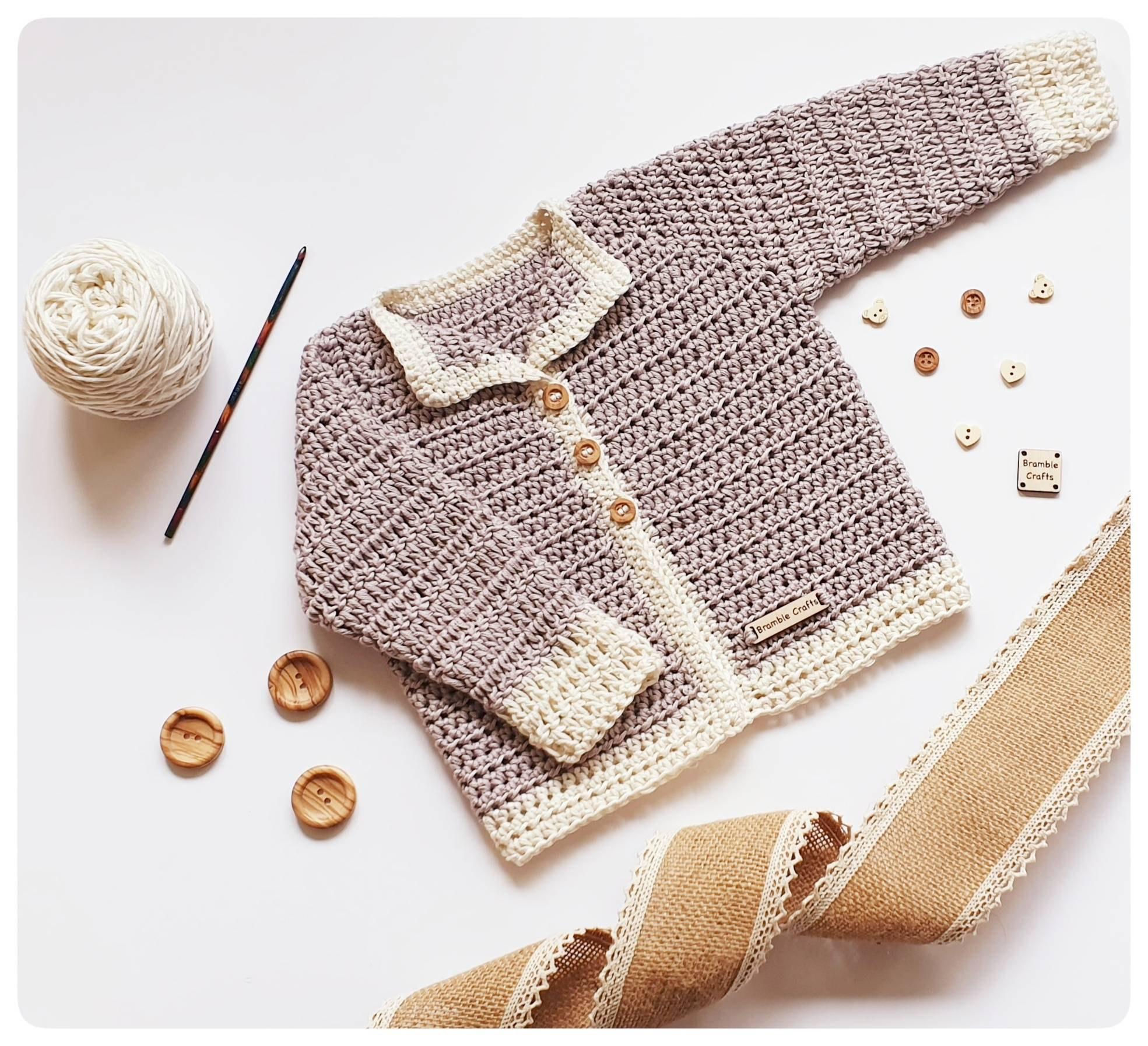 Wool-free cardigan.