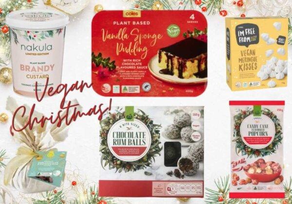 Vegan Christmas Treats at the Supermarket