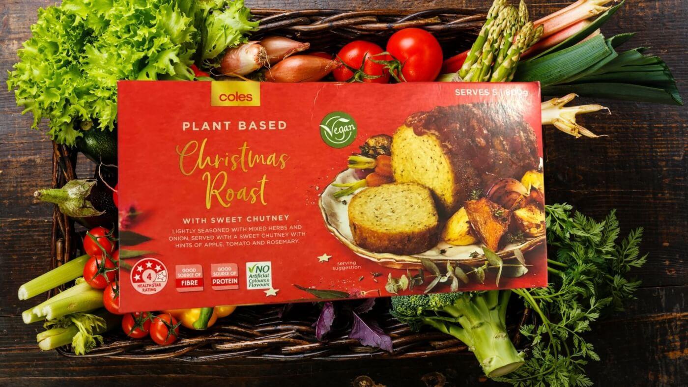 Coles Plant based Christmas Roast