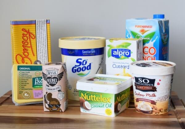 Dairy Free Products Australia