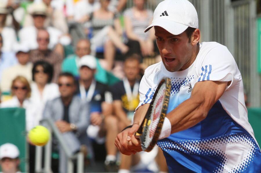 A photo of Novak Djokovic.