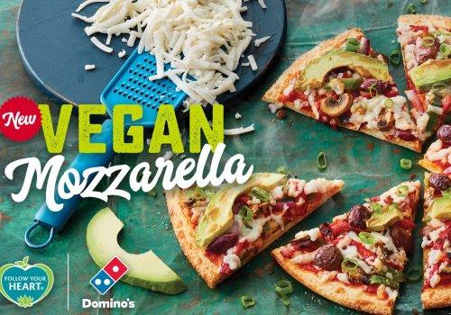 Domino's vegan pizza