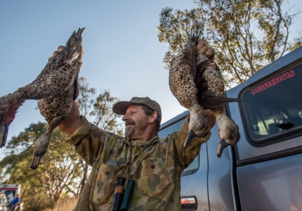 Duck Hunters Out Shooting, Despite Victoria's State-Wide Lockdown