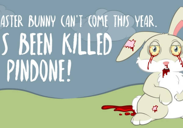 Easter Bunny in Trouble?