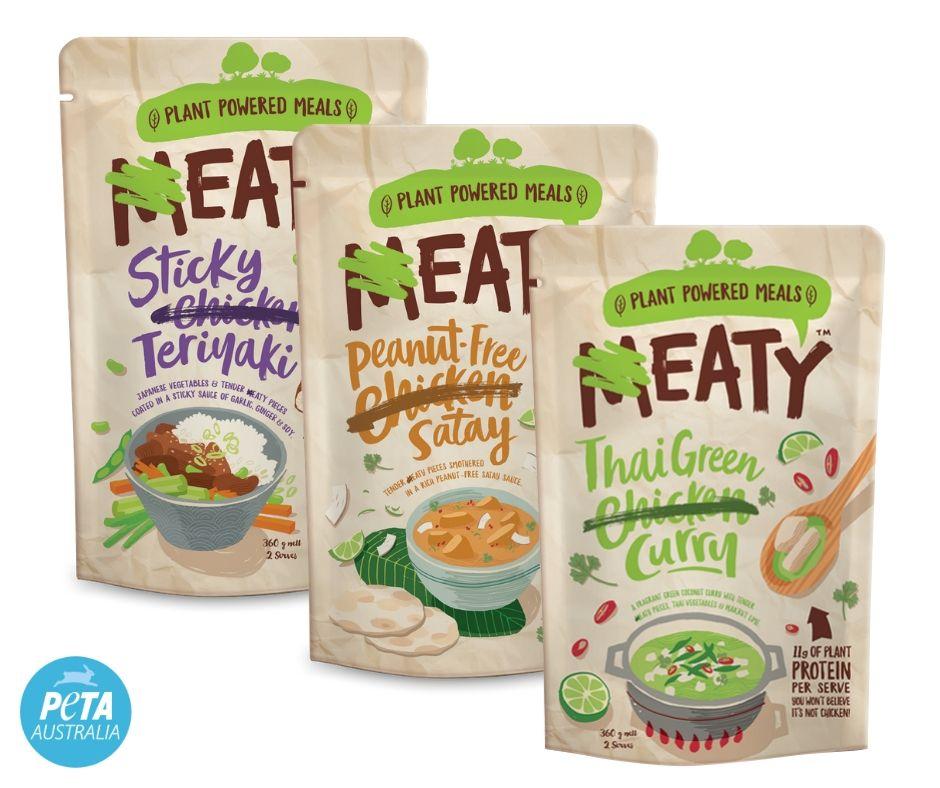 Eaty Vegan Chicken Options