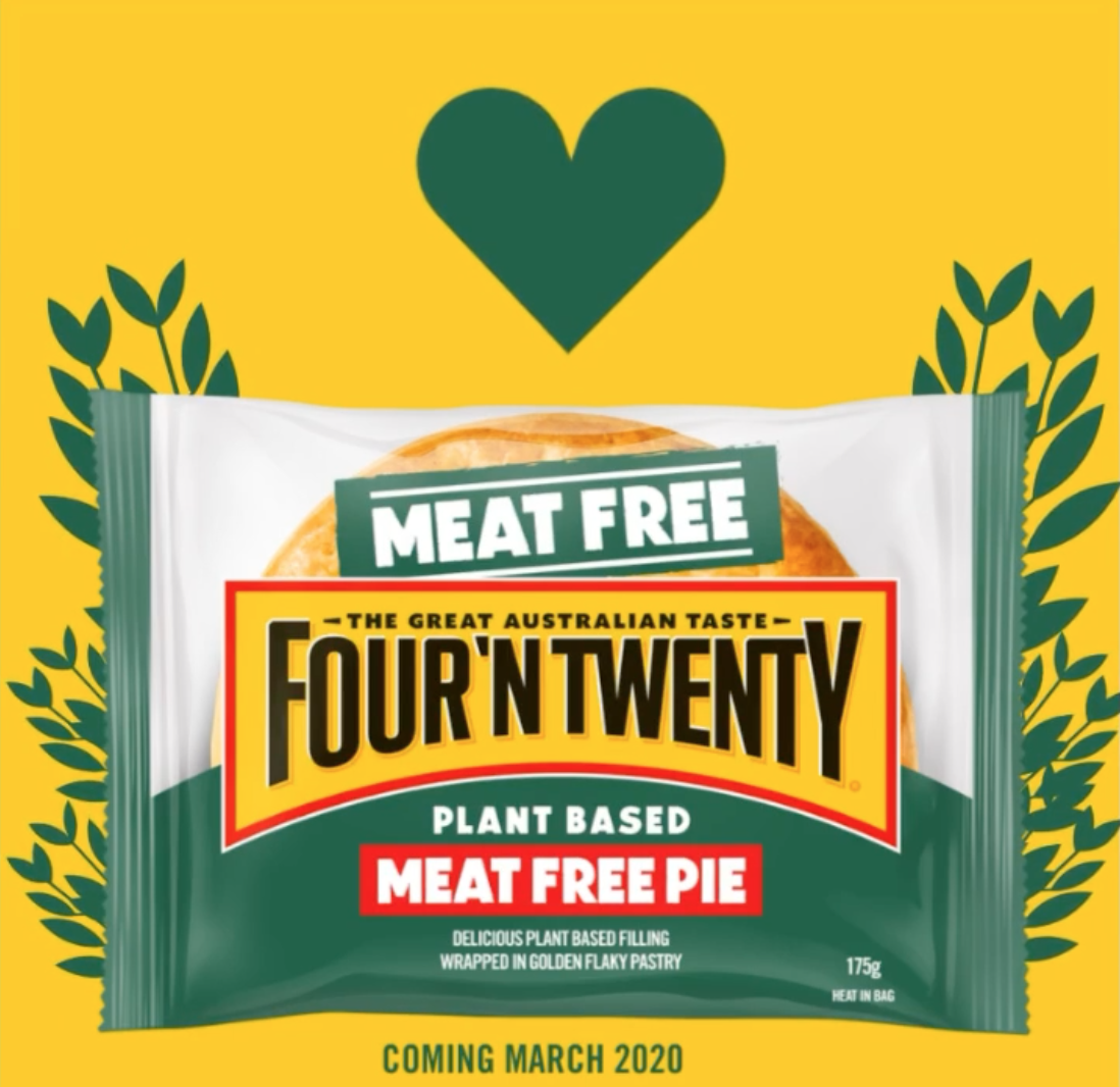 VICTORY! Vegan Four'N Twenty Pies!