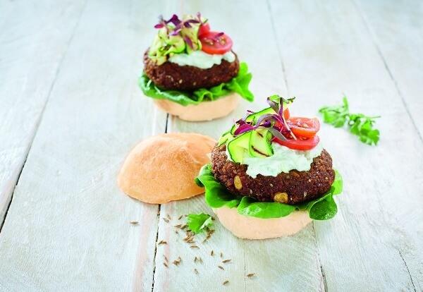 Frys Falafal Burger