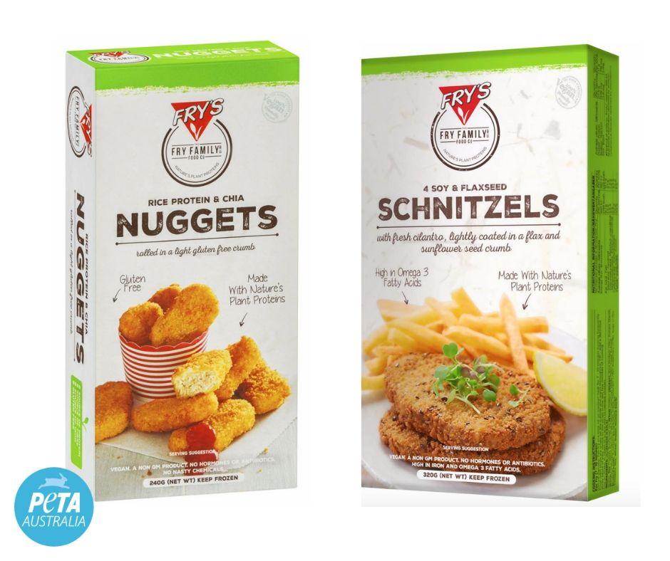 Fry's Vegan Chicken Options.