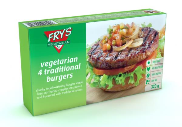 Fry's Vegan Treasures in the Frozen-Food Section