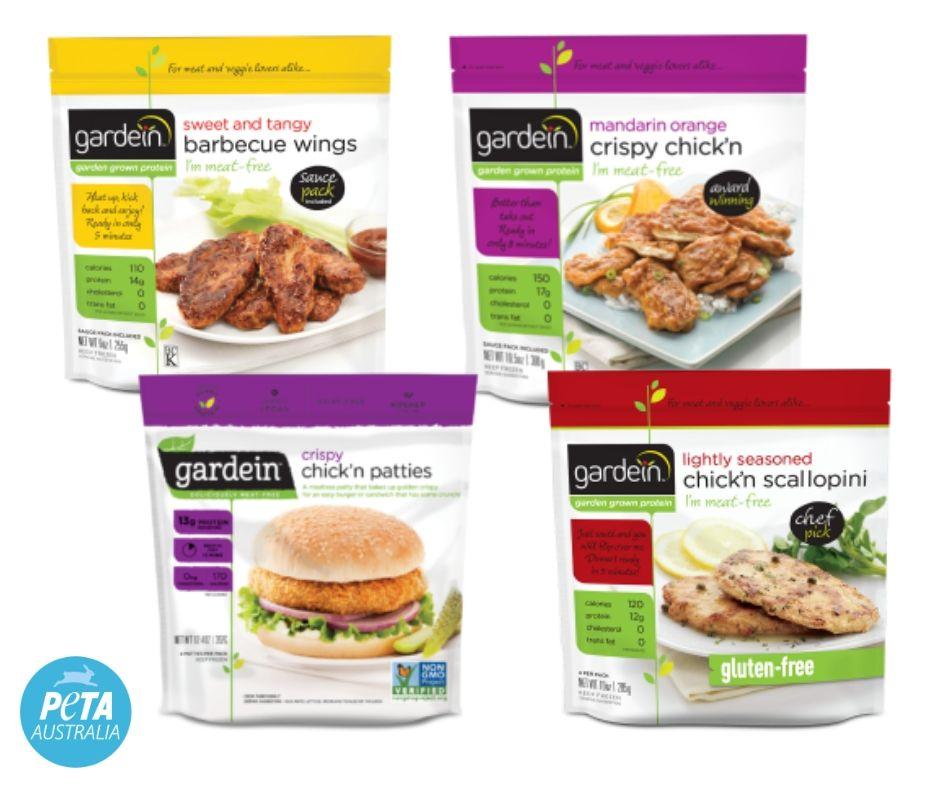Gardein Vegan Chicken Options