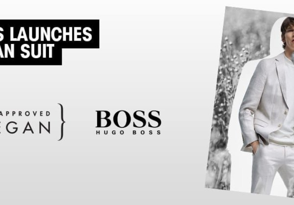 HUGO BOSS Releases First 'PETA-Approved Vegan' Men's Suit