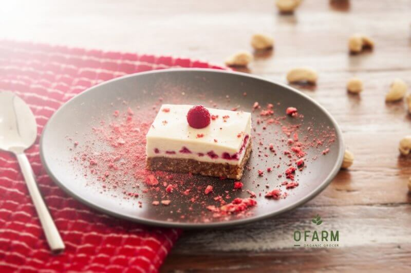 oFarm raw cake