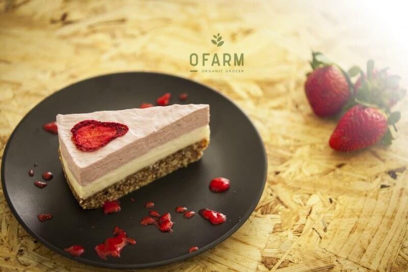 oFarm strawberry cheesecake