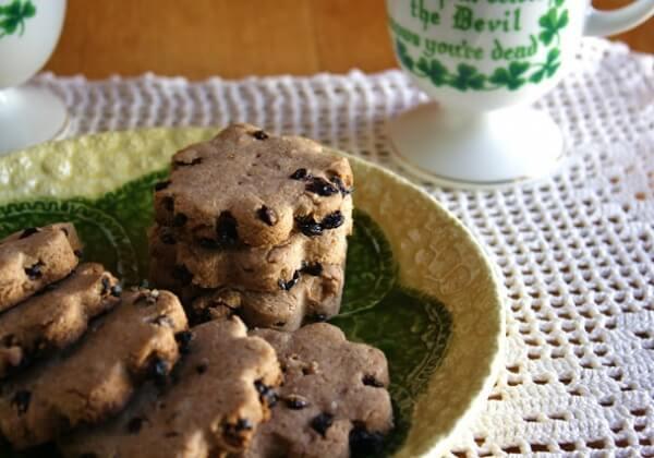Vegan Irish Currant Biscuits
