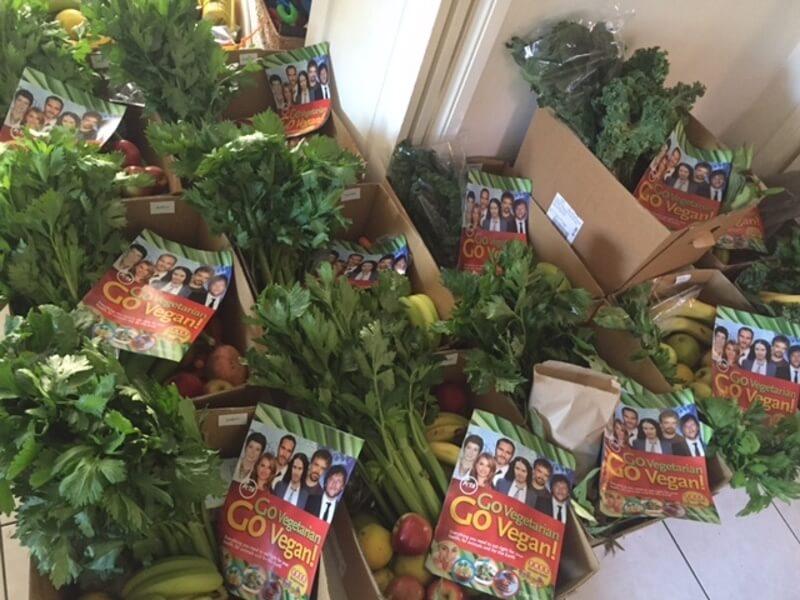 PETA Australia Vegan Starter Kit Delivery