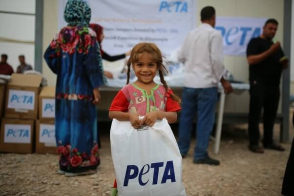 Inditex Donates Angora Products to Syrian Refugees