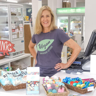 1. Jess Bailey – Founder and Owner, Vegan Grocery Store