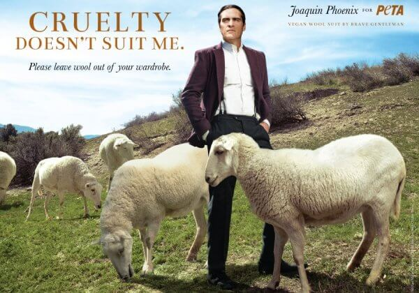 Joaquin Phoenix Says, 'Cruelty Doesn't Suit Me,' in New Anti-Wool Ad