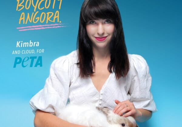 VIDEO: Singer Kimbra Explains That Angora Looks Best on Bunnies