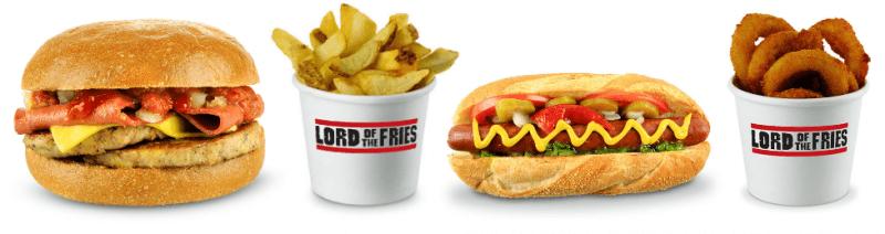 Lord of the Fries Vegetarian Food