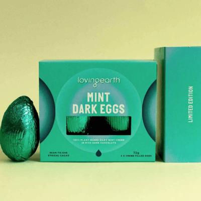 Loving Earth Mint Dark Eggs.