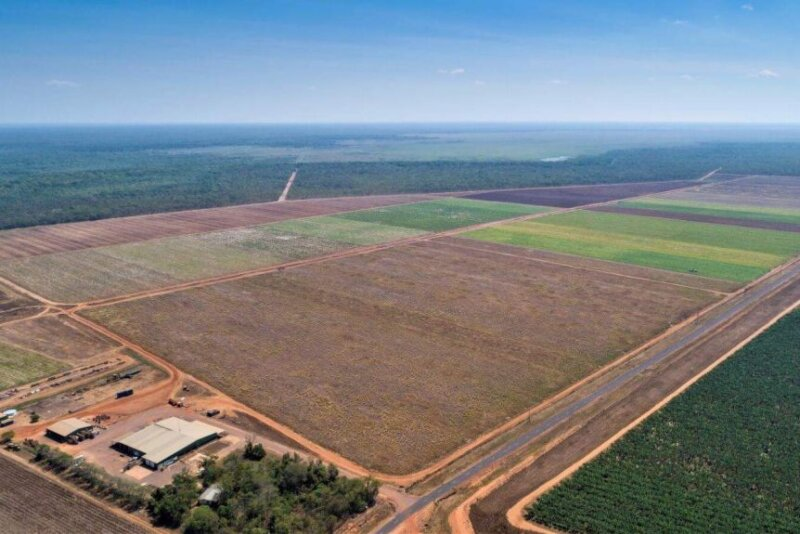 Image shows Northern Territory farm property