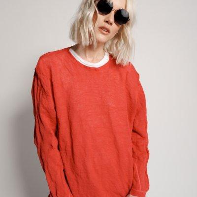 Oversized Steele Knit Sweater by Sans Beast