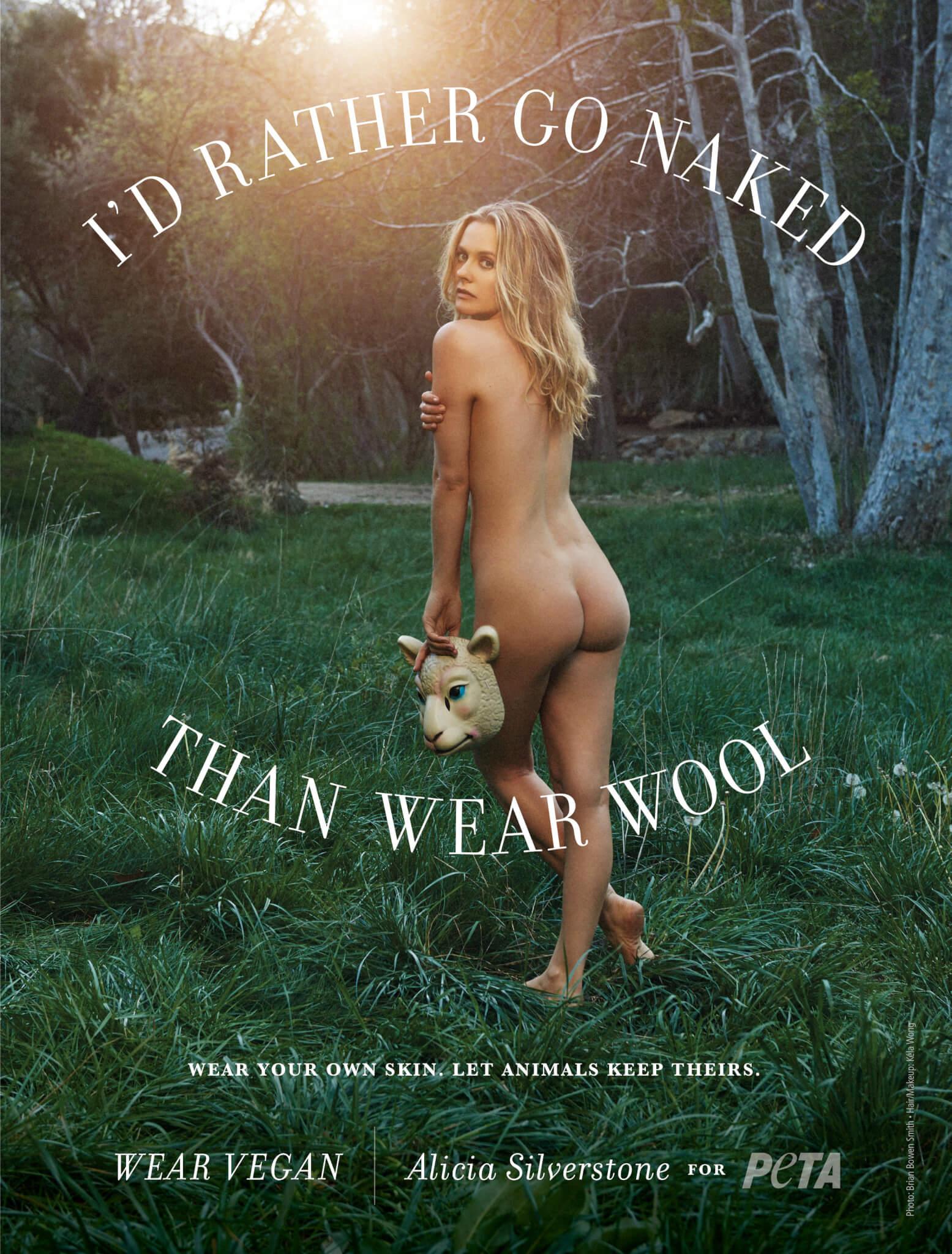 Alicia Silverstone Would Rather Go Naked Than Wear … Wool!