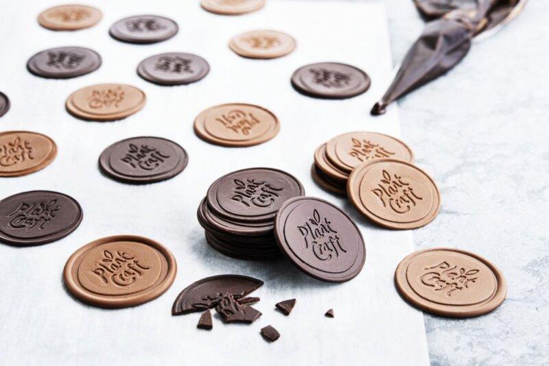 Image shows vegan chocolate