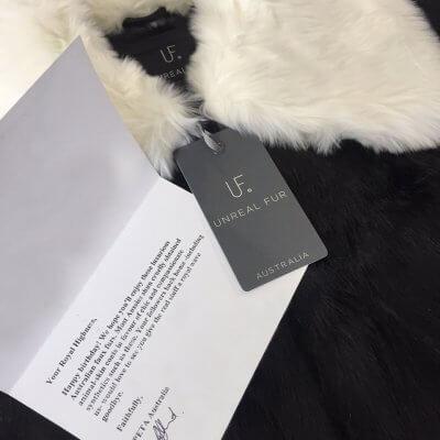 Princess Mary Unreal Fur Gift