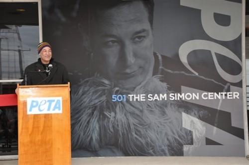Sam Simon and PETA
