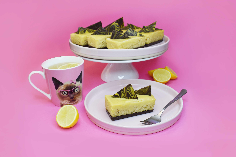 Lemon Cake Bars.
