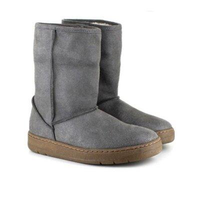 Vegetarian Shoes Snug Boot Grey