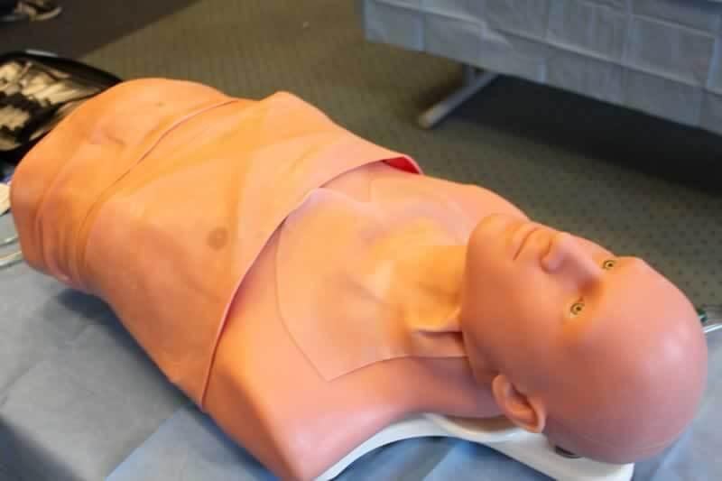 TraumaMan simulator