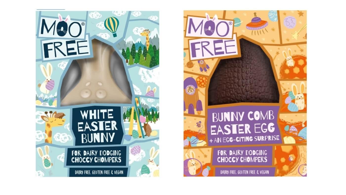 Moo Free chocolate.
