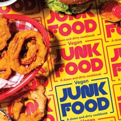 Vegan Junk Food Recipe Book.