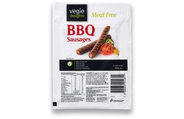 Vegie Delights BBQ Sausages