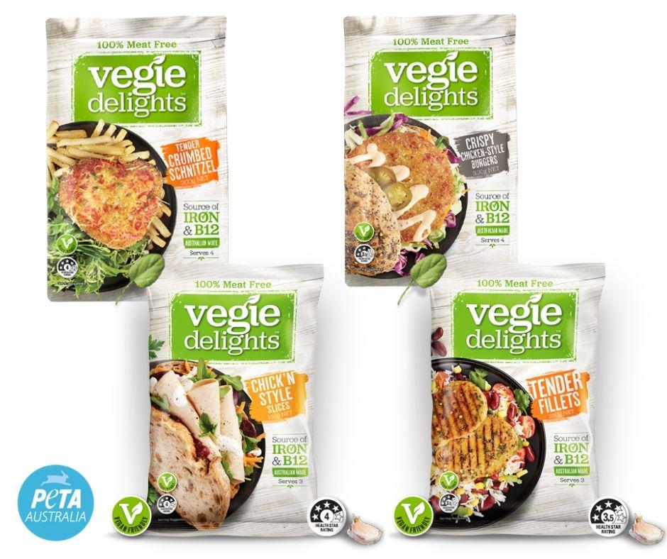 Vegie Delights Chicken Options