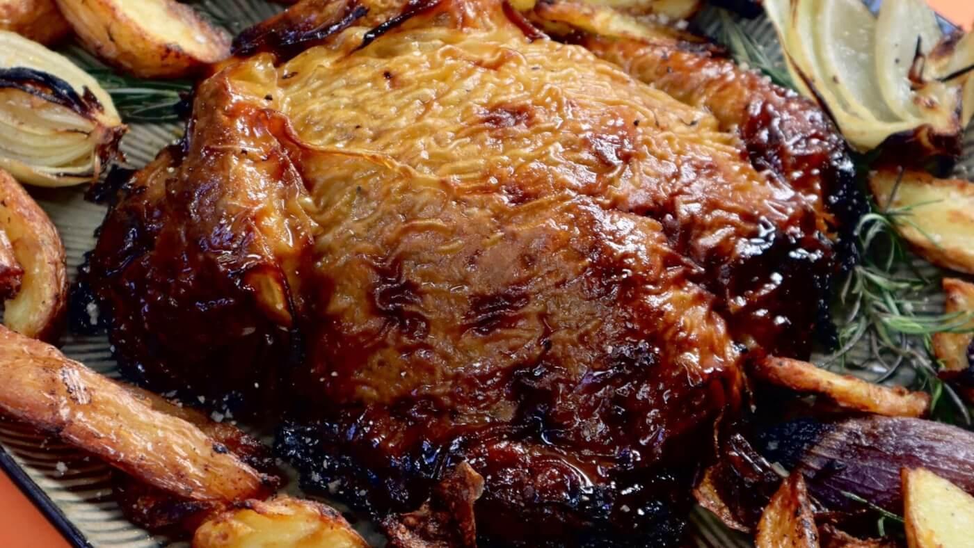 Vegan Roast 'Turkey' By Zacchary Bird.