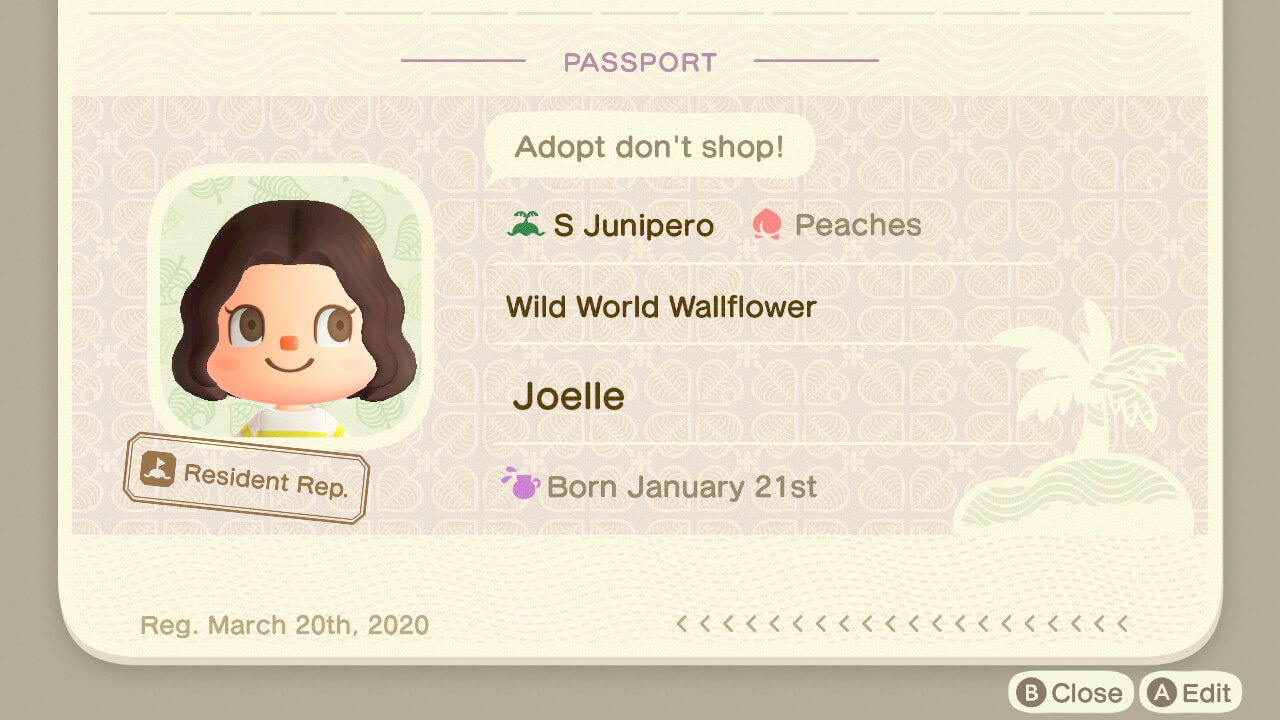 Animal rights messaging in Animal Crossing.