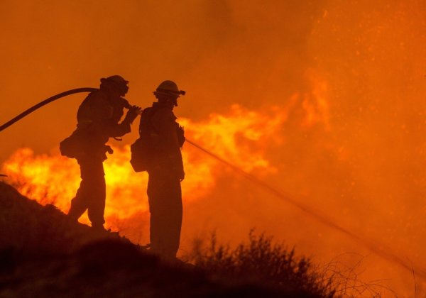 Image of firefighters.
