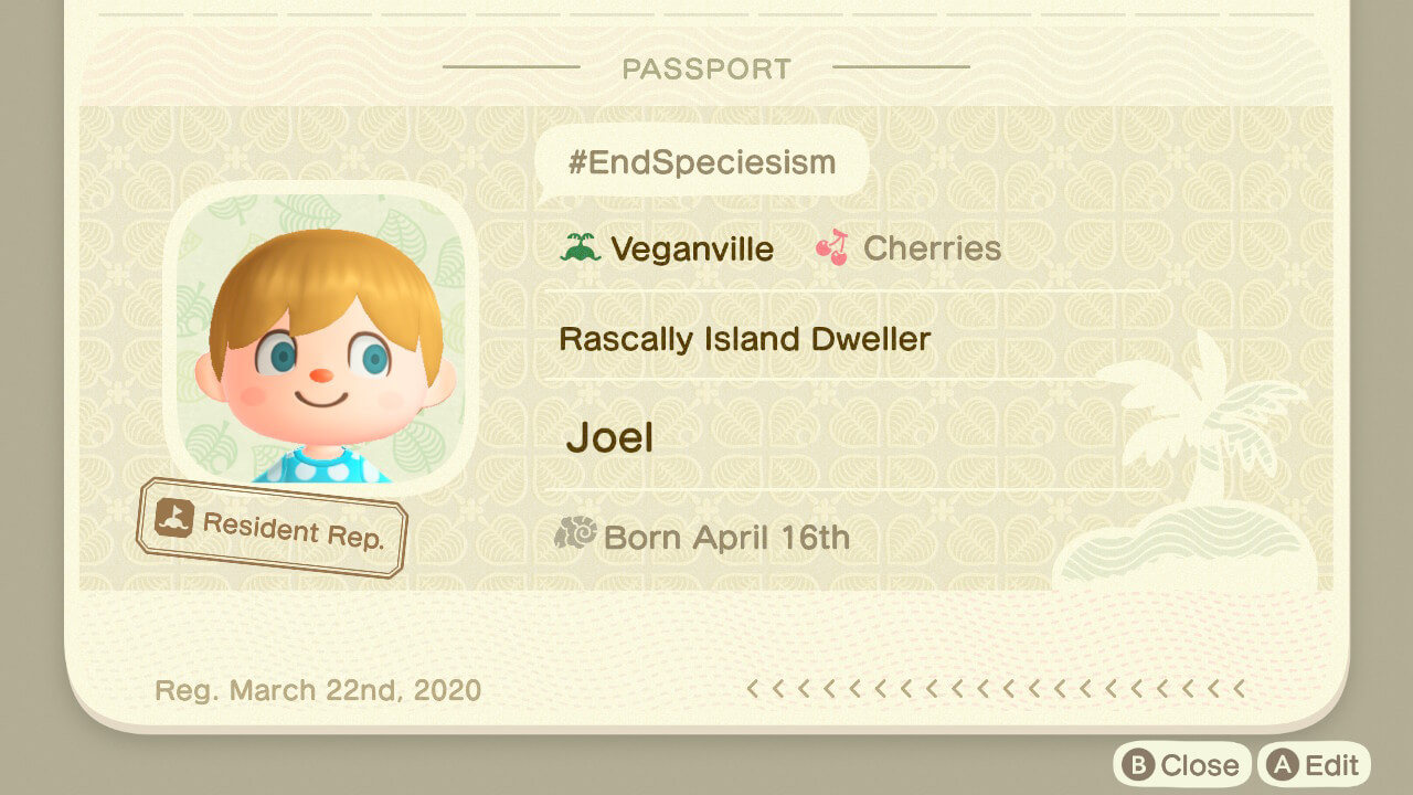 How to spread animal rights messages in animal crossing.