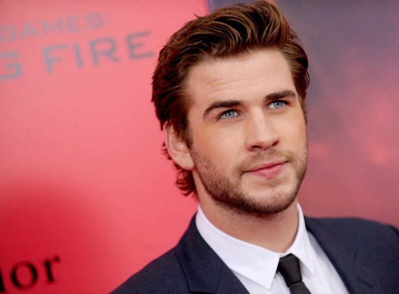 """Liam Hemsworth """"Hunger Games: Catching Fire"""" Premiere"""