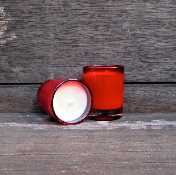 Green Ritual Vegan Sandalwood Vanilla Scented Candle