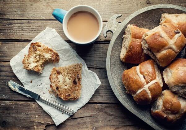 Vegan Hot Cross Buns and Where to Buy Them